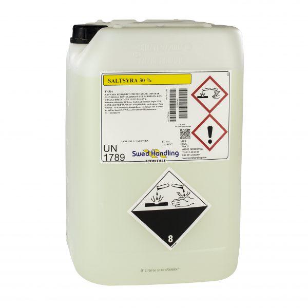 Saltsyra HCl klorvätesyra väteklorid pH justerare (sänka pH) processer reningsverk.